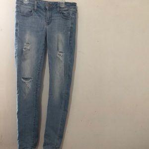 American Eagle Super Stretch Jeans.